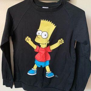 Bart Simpson Graphic Sweater